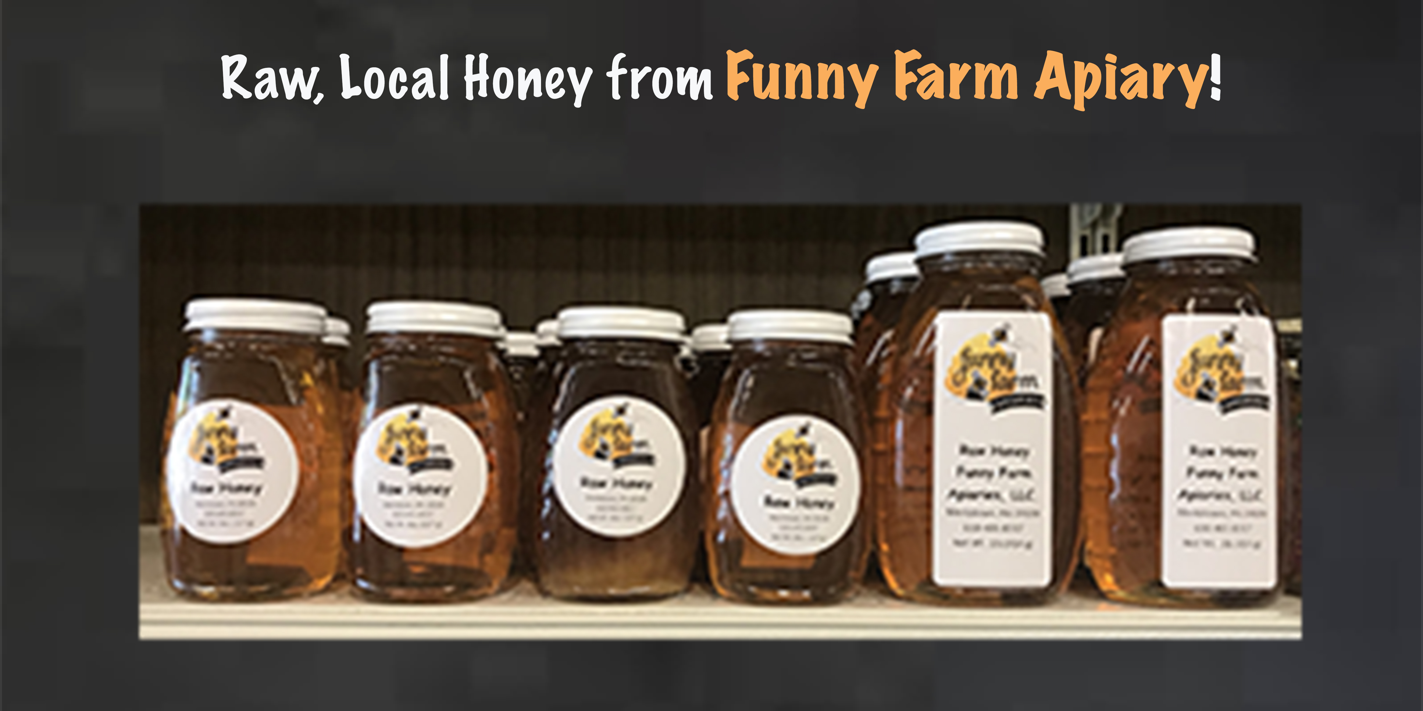 website Funny Farms Apiary