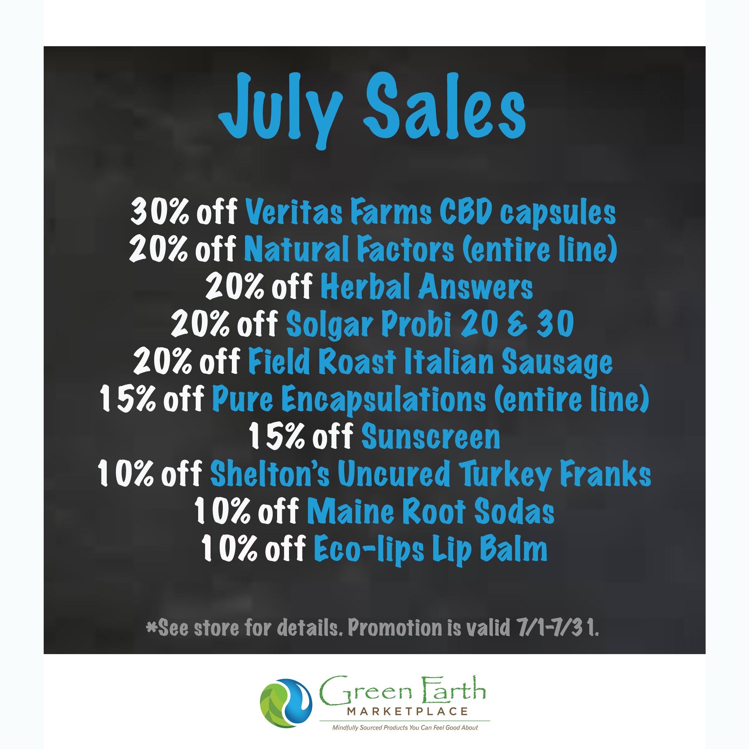 2020 July Sales blue