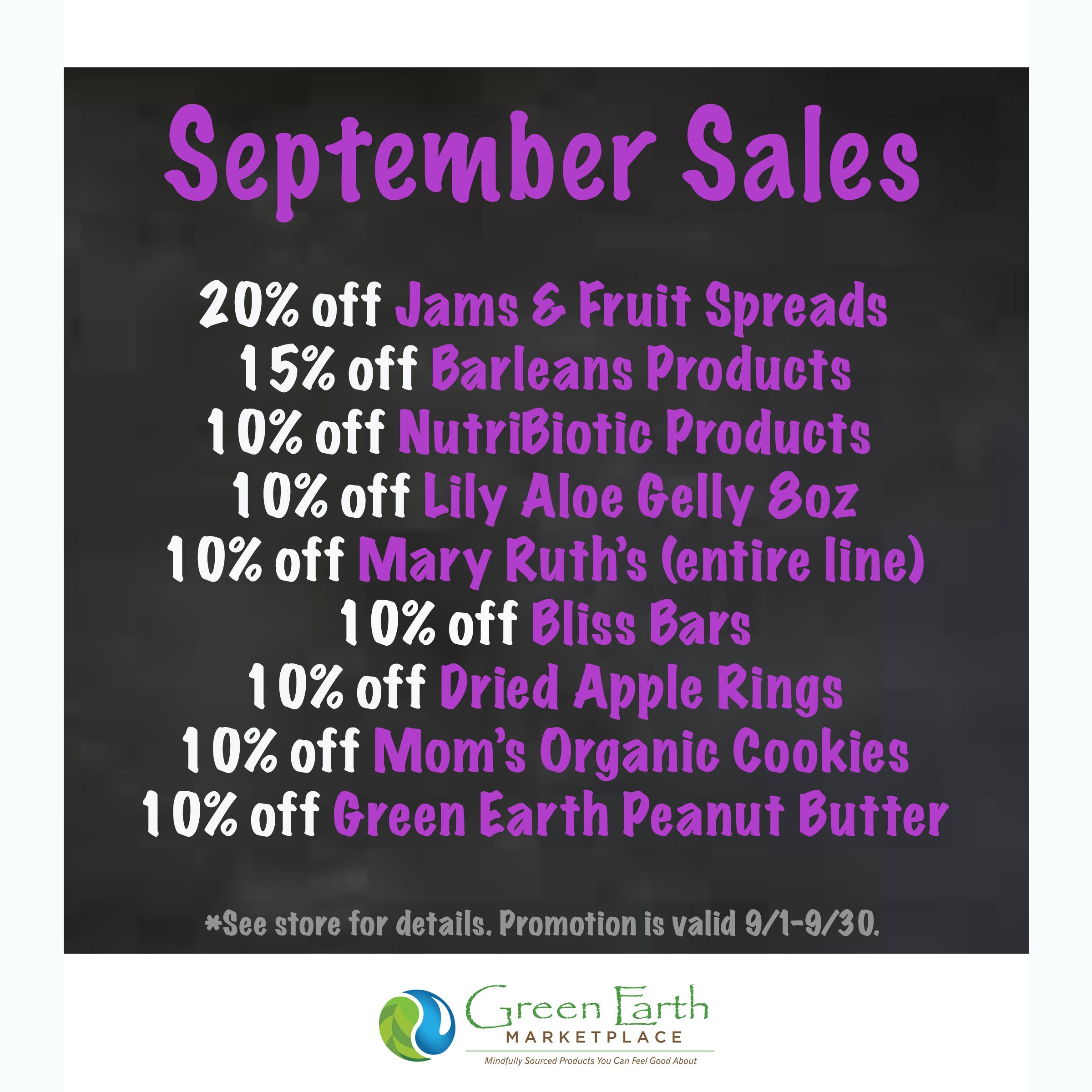 2020 September Sales