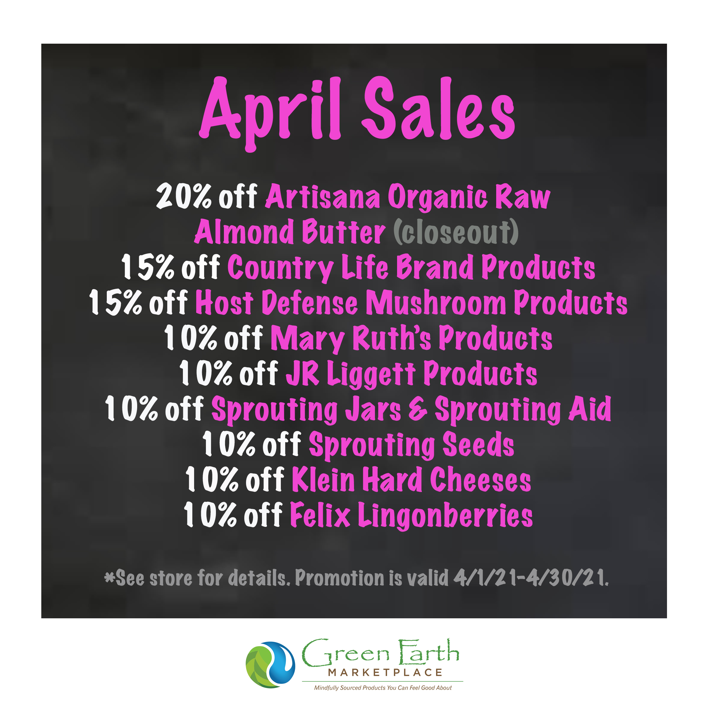 2021 April Sales