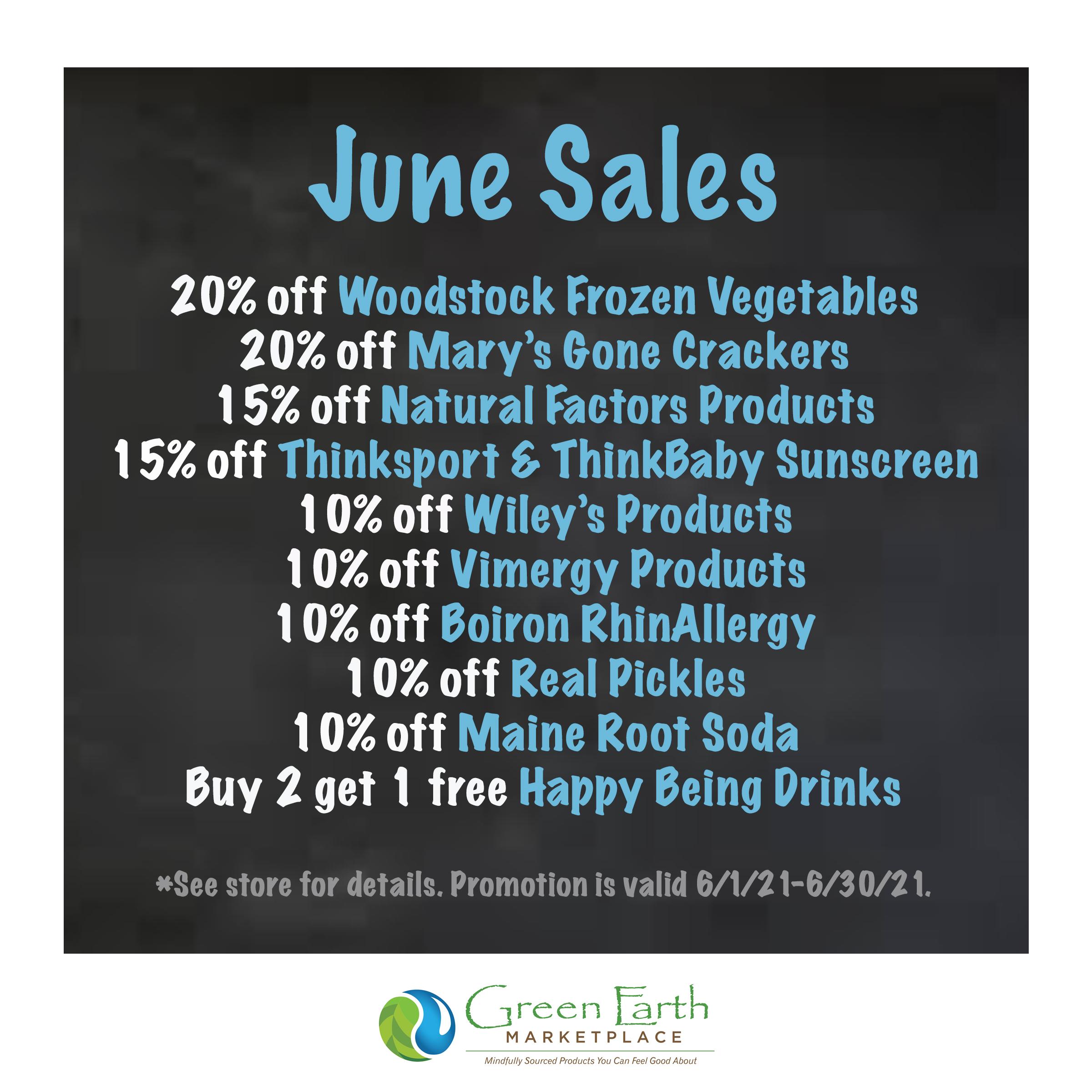 2021 June Sales